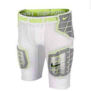 Nike Pro Combat Dri Fit Football Padded Shorts L